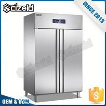 New Product French Commercial 2 Door Refrigerator Freezer