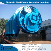 High oil yield plastic convert oil machines plastic bags recycling machines