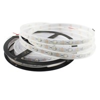 programmable led strip SMD5050 60LED/M WS2812B ,DC 5V 5meters/Roll