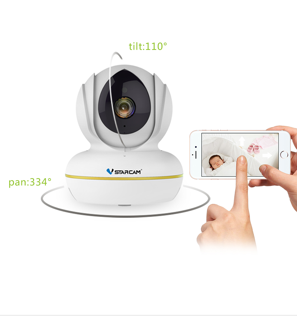 smart home WIFI 1080P wireless TF SD card security camera for home security