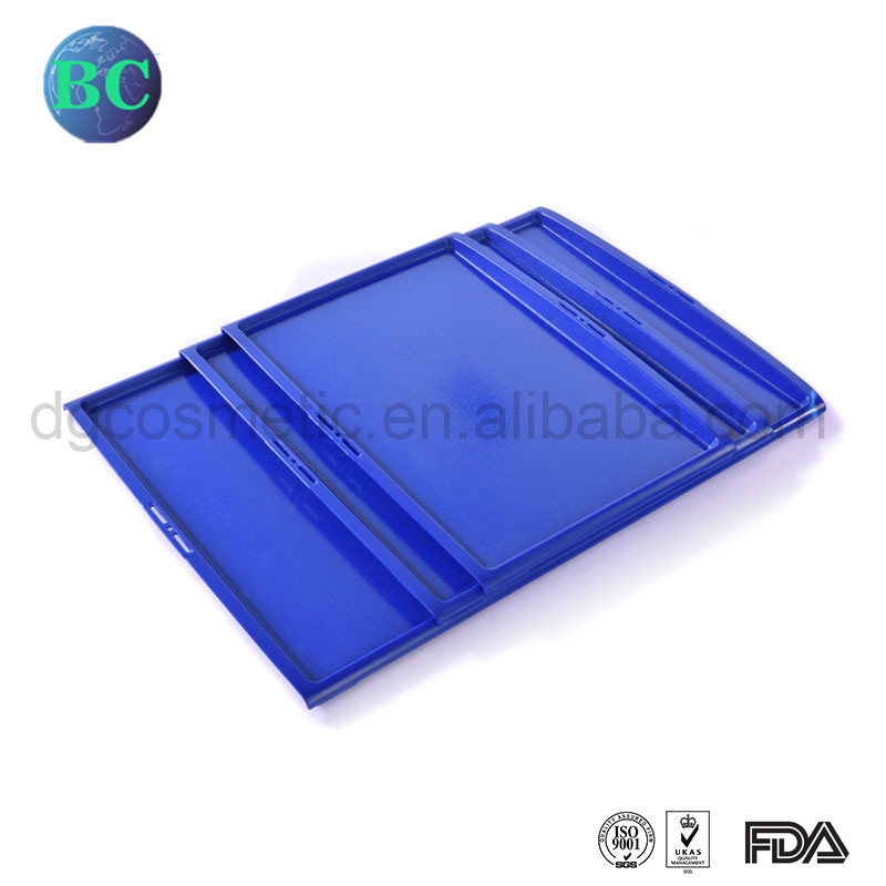New Customized Non-Slip Rectangle ABS Airline Food Serving Tray