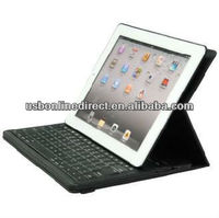 360 Degree Rotating Bluetooth 3.0 keyboard case for iPad2/3/4