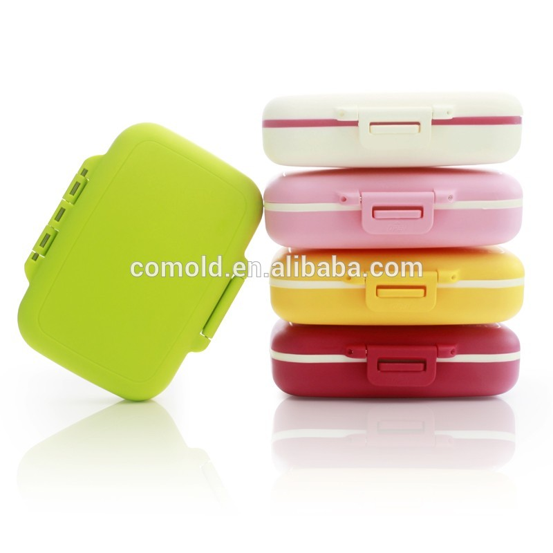New Best Selling Colorful 7 Day Weekly Tablet Medicine Pills Box