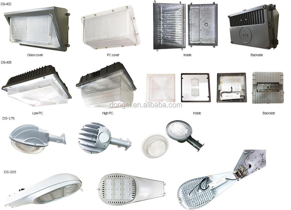 Outdoor high lumens 80W 100W 120W 120LM/W Meanwell Driver LED Stree Light