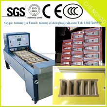 Automatic blister card packing machine for small commodities