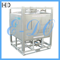 Stainless Steel IBC 1000-liter Container