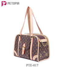 Soft Sided Travel Dog and Cat Pet Carrier Tote Hand Bag