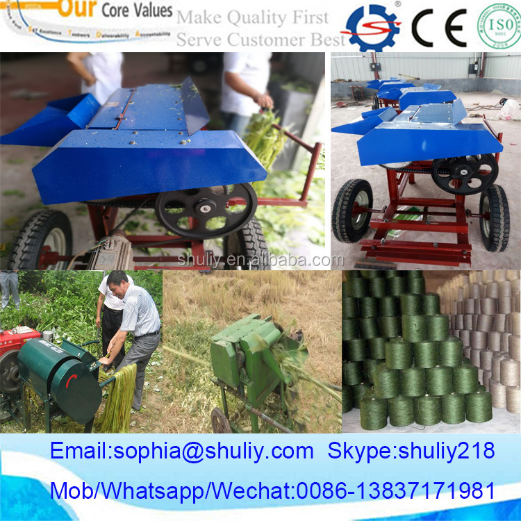 New design of flax peeling machine 0086-13837171981