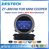 Best Selling car dvd gps radio bluetooth steering wheel usb sd slot, car dvd player gps for bmw mini cooper/