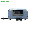Hot sale airstream mobile food cart with frozen yogurt machine