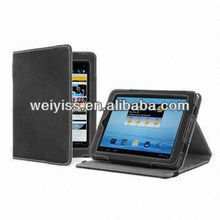PU Leather Case/Cover for E-book Reader, Tablet PC, Version Stand, Comes in Book Style