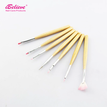 2016 iBelieve kolinsky acrylic nail design nail art brush