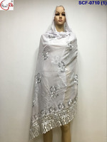 Muslim scarf high quality embroidery scarves shawls,wrap,pashmina scarf