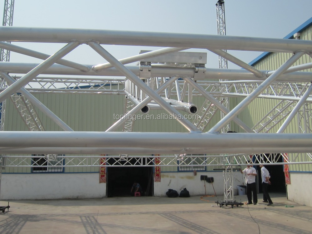 Tfr aluminum clamp truss used aluminum truss double clamp for Order trusses online