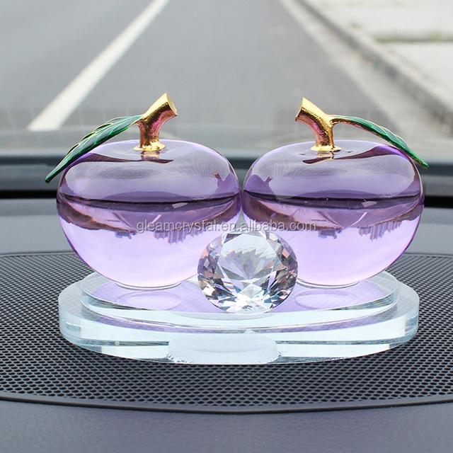 Unique double apples shape Crystal perfume bottles 20ml