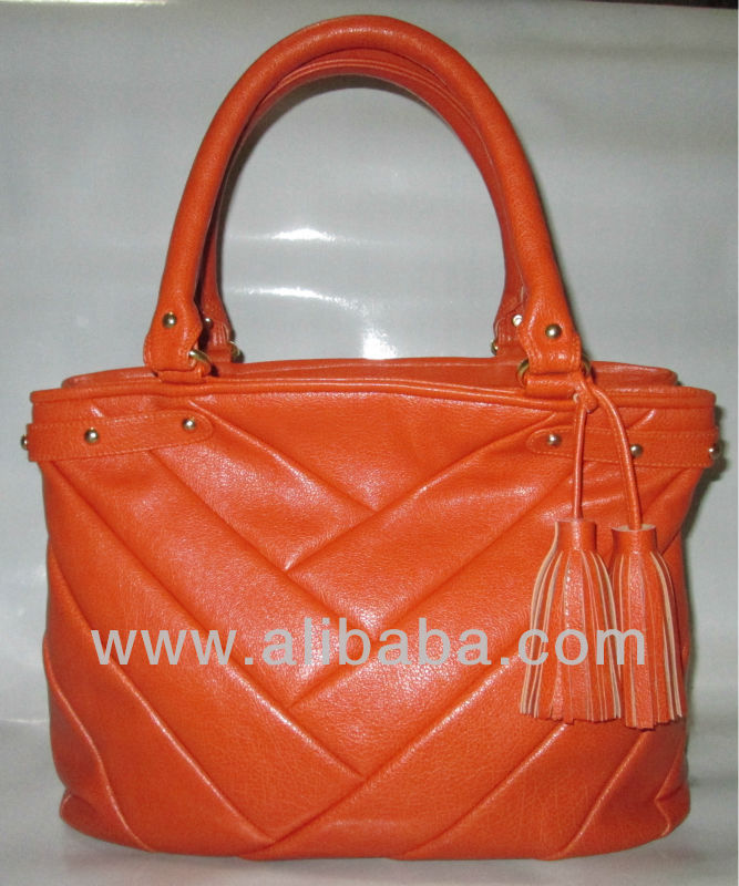 Original NAOMI LAUREN Paneled Leather Bag