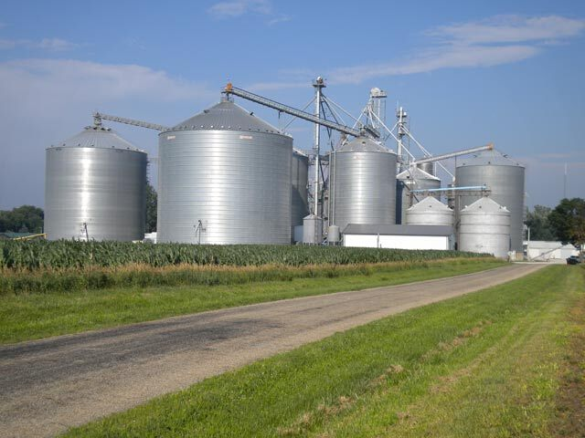 2000 Tons Wheat Storage Galvanized Steel Silo