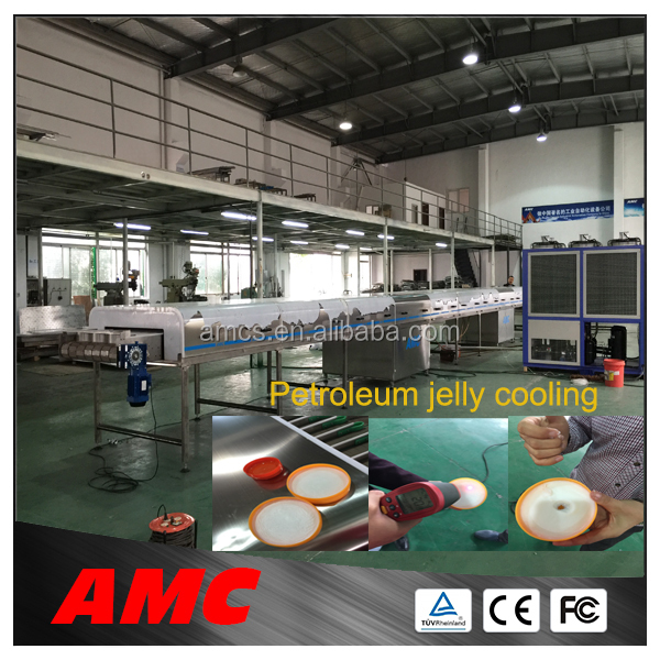 Newest Process Technology Cleaning Multifunction fully automatic ice cream making ma... Cooling Tunnel Machine For Produ