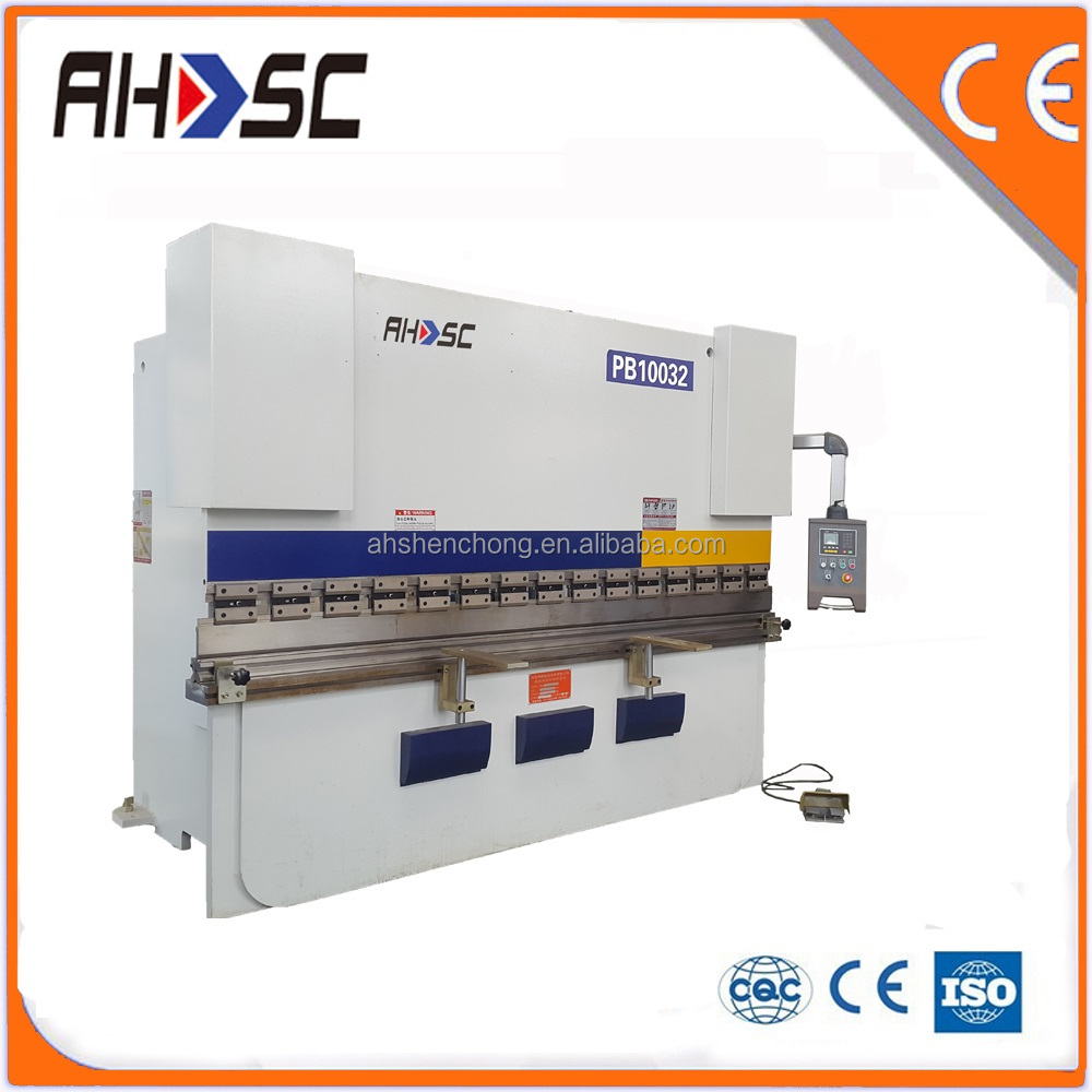 professional manufacturer manual controlling with safety protection device hydraulic cnc bending machine