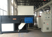 single shaft shredder/shredding machine for plastic yarn and Jumbo