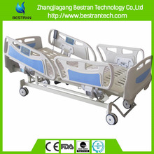 BT-AE004 CE quality Four castor 5 movement electrical bed for icu room