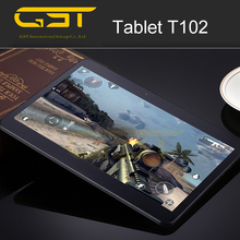 Cheapest 10 inch android 4.4 tablet 3g sim card slot Tablets T102 10 Inches 3G for india