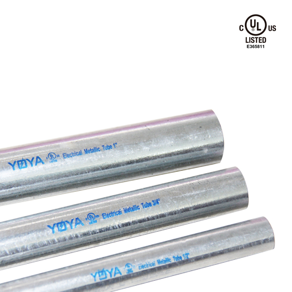 1/2'' - 4'' UL797 listed Hot Dip Galvanized EMT Conduit
