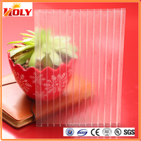double wall polycarbonate sheet;ge lexan polycarbonate sheet for hothouse garden