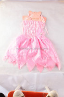 low price pink pixie skirt lovely flower dress up for kids carnival costumes