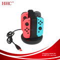 For Nintendo Switch Joy-Con Charging Dock 4 in 1 Charger Docks Stand and Charging Holder with LED Indication