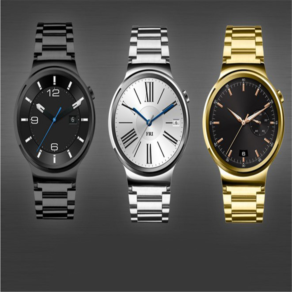 18mm stainless steel watch band strap for huawei smart phone
