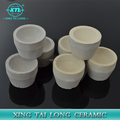 Assaying magnesite and cement Magnesite cupels crucible With High Quality