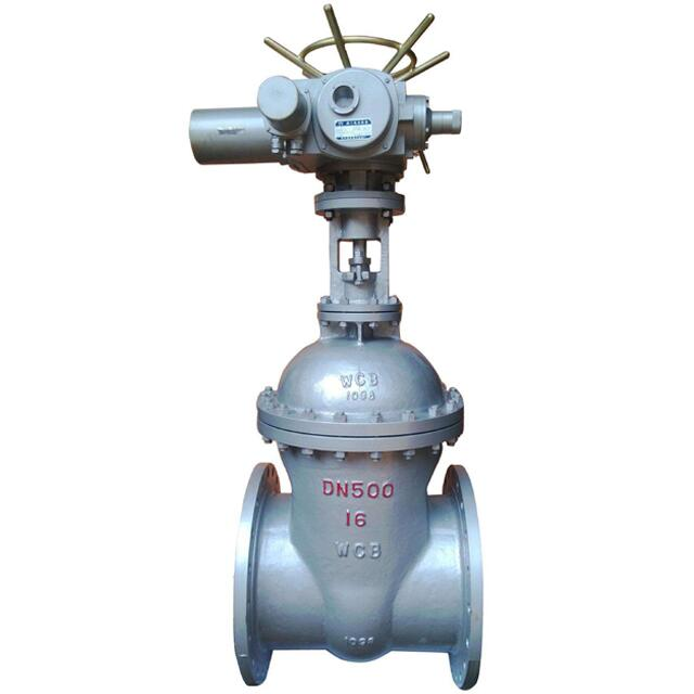 Electric 6 Inch OS&Y Sluice Cast Iron Stem Gate Valve with Prices
