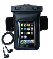 High quality waterproof bag for iPhone 4 4s 5 5s 5c, Mobile phone waterproof bag with Audio cable