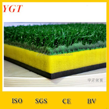 swing down and through synthetic grass top quality golf practice mat