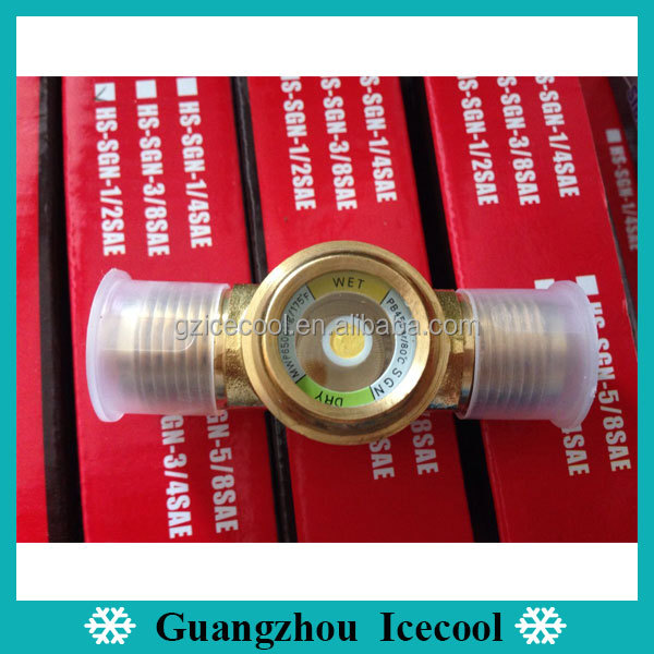 Hongsen oil level Flanged tube fitting 1/2 sight glass HS-SGN-1/2 SAE