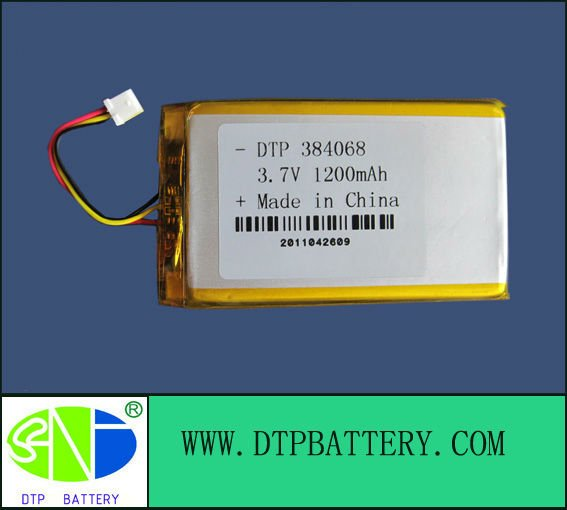4.2v battery 1200mah with CE ROHS UL certification