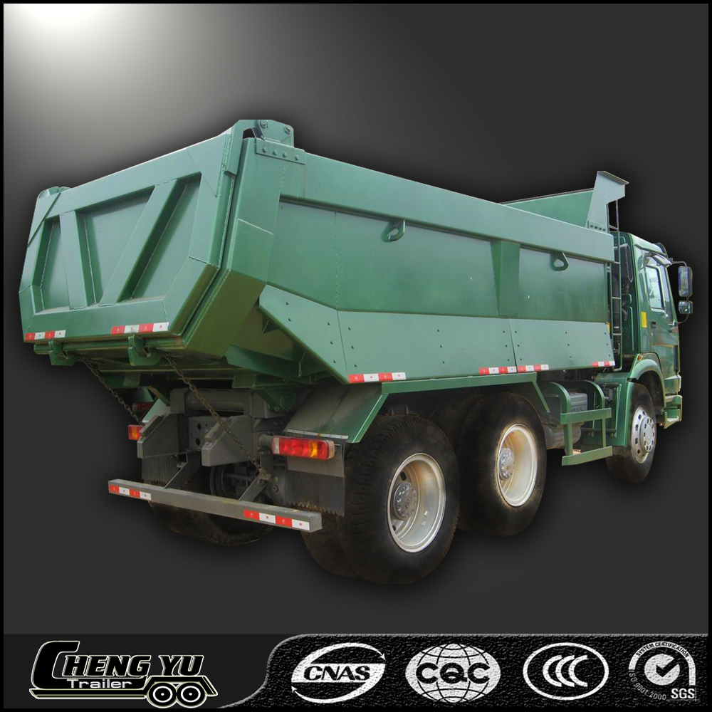 Factory supplied howo 6x4 tipper hot sale dump truck