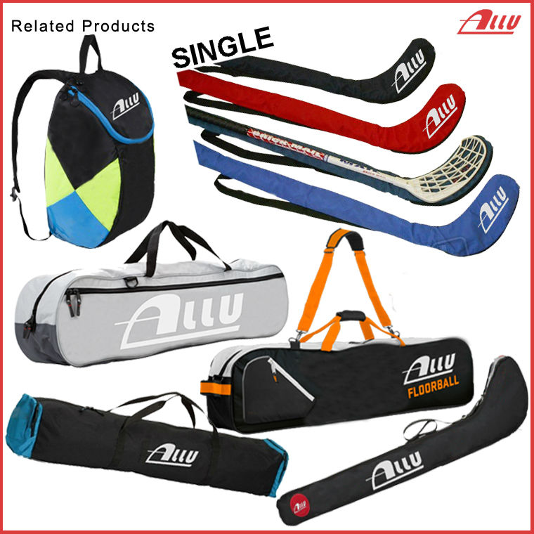 Wholesale customized floor ball stick bag