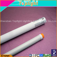 pure white aluminum and PC cover T8 LED 1200mm tubes 18w