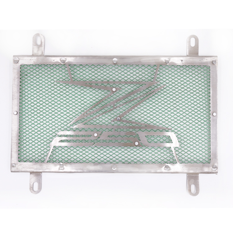 Hot Motorcycle Stainless Steel RADIATOR GUARD COVER Protector For Kawasaki Z250 Z 250