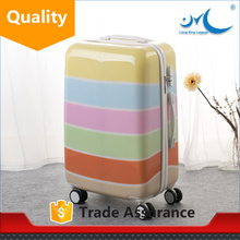 spinner ormi pink trolley valise luggage sets with fitting corner