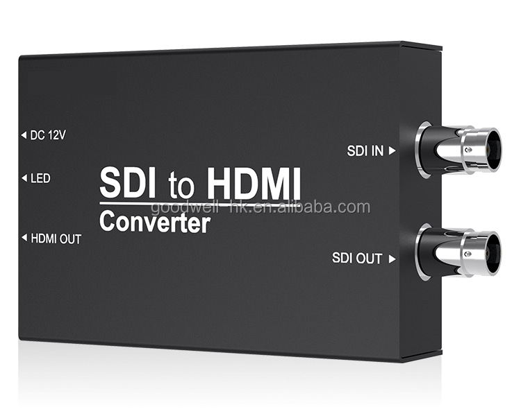 1080P Portable Size Light Weight SDI to HDMI Conversion for Video Security Monitoring