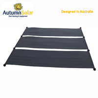 Black polyethylene Solar Pool Heating Collectors saving pool heating cost