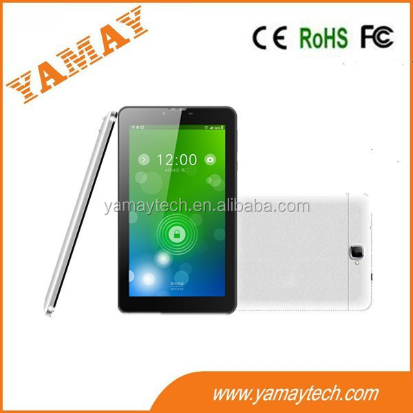 super fast quad core cpu phablet ultra slim 7 inch ips bar touch screen tablet pc