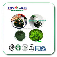 GMP factory supply organic spirulina powder in bulk