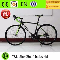 Best buy 700C ultralight alloy racing road bike with carbon fork