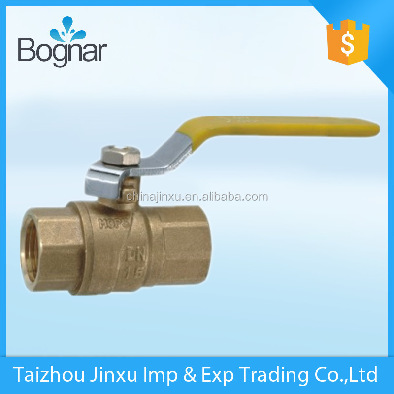 high quality with long iron handle brass ball valve and fitting polishing and CE approved