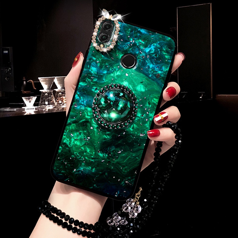 2019 the new Hot sale phone accessory Crystal bracelet lanyard Diamond holder phone case for iphone xs max for huawei P30 <strong>PRO</strong>