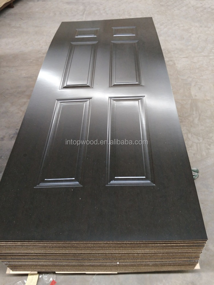 4.0mm 3.0mm melamine moulded HDF door skin